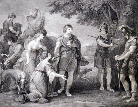 I due nobili cugini - Atto IV